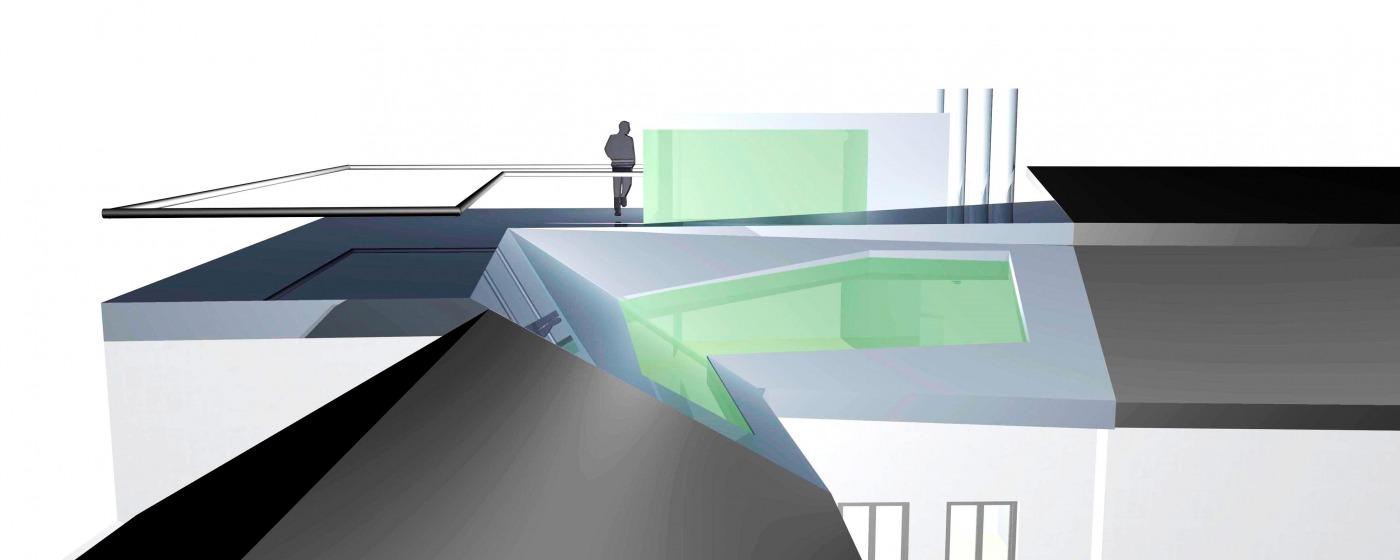 Dachgeschossausbau Tummelplatz Linz – Konzept